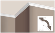 Designer Mouldings Cornices Skirtings And Dado Rails In
